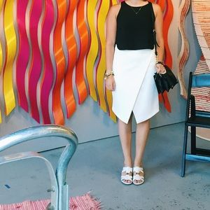 Neiman Marcus Philosophy Popover Pencil Skirt